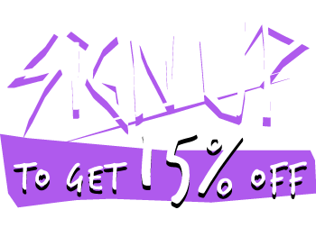 Sign Up to get 15% Off on first order
